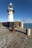 Lighthouse at St Ives — Stock Photo