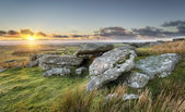 Sunset on the Moors — Stock Photo