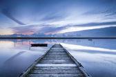 Flotta laguna — Foto Stock