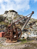 Quarry Winch — Stock Photo