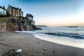 Cawsand Beach — Stock Photo