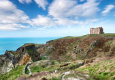 Tintagel in Cornwall — Stock Photo
