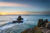 Lands End in Cornwalll — Stock Photo