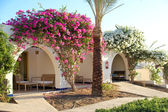 Beautiful veranda in Hotel, Dahab, Egypt — Stock Photo