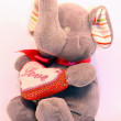Stock Photo: Plush elephant