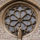 Ornament window — Stock Photo