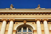 A beautiful old building. Fragment. — Stock Photo