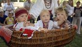 Ukrainian traditional festival — Stock Photo