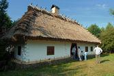 Traditional Ukrainian festival in Mamaeva Sloboda — Stock Photo
