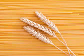 Wheat & spaghetti — Stock Photo
