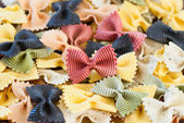 Färgglad pasta — Stockfoto