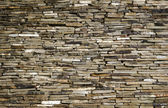 Background wall of slate limestone slabs — Stock Photo