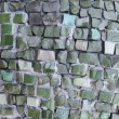 Abstract texture of the glass rod and smalt mosaics — Stock Photo