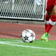 Stock Photo: Soccer Corner Kick