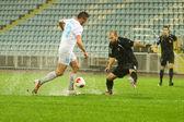 Soccer match — Stockfoto