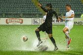 Soccer match — Stock Photo
