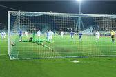 Penalti fútbol — Foto de Stock