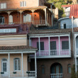 Buildings in Tbilisi — Stock Photo