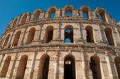 Amphitheatre of El Jem - Tunisia — Stock Photo