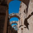 Stock Photo: Colosseum in El-Jem, Tunisia