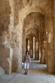 In ancient El Jem — Stock Photo