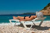 Vakantie op het strand — Stockfoto