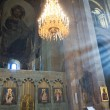 Stock Photo: Georgi- inside of Svetitskhoveli Cathedral in Mtskheta