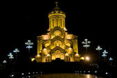 Holy Trinity Cathedral of Tbilisi — Stock Photo