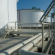 Stock Photo: Petroleum storage reservoirs
