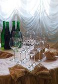Before wine testing — Stock Photo