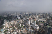 Bangkok - bird's eye panorama — Stock Photo