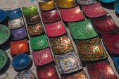 Traditional Arabic ceramics — Stock Photo