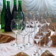 Before wine degustation — Stock Photo