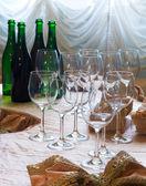 Before wine degustation — Stock Photo