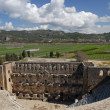 The Roman theatre in Aspendos - Stock Photo