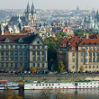 Stock Photo: General view of Prague