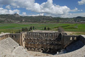 Roman theater - Aspendos — Stock Photo