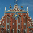 Riga - House of the Blackheads — Stock Photo