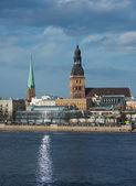 Riga - gesamtansicht — Stockfoto