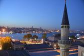 Bosphorus, Istanbul - night view — Stock Photo
