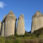 Cappadocia - rocks in Love Valley — Stock Photo #35908705