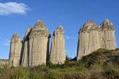 Cappadocia - rocks in Love Valley — Stock Photo