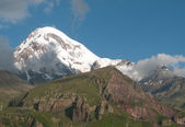 Mount Kazbek - Caucasus — Stock Photo