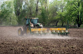 Agriculture - arable land cultivation — Stock Photo
