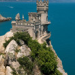 Crimea - Swallow's Nest castle — Stock Photo