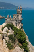 Crimea -  Swallow's Nest castle — Stok fotoğraf