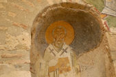 Fresco -  Saint Nicholas of Myra — Stock Photo