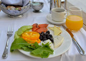 Aristocratic breakfast — Stock Photo