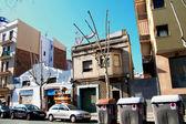 Barcelona's streetscape — Stock Photo