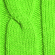 Knitted green plait — Stock Photo #36211305